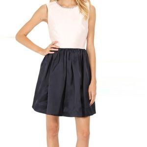 Kate Spade New York Embellished Fit & Flare Dress